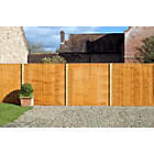 more details on Standard Featheredge Panel - 1.83m x 1.5m - Pack of 4.