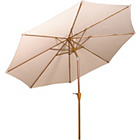 more details on Royalcraft Sahara Garden Parasol 3m - Cream.