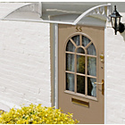 more details on Door Canopy - White.
