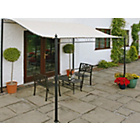 more details on Wall Mounted Garden Gazebo 2.5m.