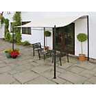 more details on Wall Mounted Garden Gazebo 3m.