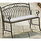 more details on Versailles Garden Steel Folding Bench - Grey.