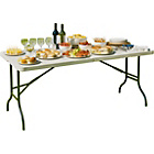 more details on Foldaway 5ft Banqueting Garden Table - White.