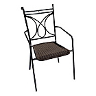 more details on Europa Leisure Treviso Chair - Set of Two - Black.
