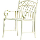 more details on Greenhurst Versailles Garden Chair - Antique Cream.