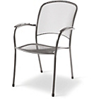 more details on Royal Garden Carlo Garden Chairs - Set of Two - Grey.