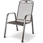 more details on Royal Garden Savoy Garden Chairs - Set of Two - Grey.