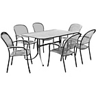 more details on Royal Garden Carlo 6 Seater Patio Furniture Set.
