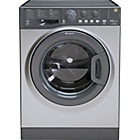 more details on Hotpoint WDAL8640 Graphite Washer Dryer - Del/Recycle.