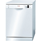 more details on Bosch SMS40C02GB Full Size Dishwasher - White/Ins/Del/Rec.