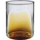 more details on Habitat Alfie Large Tumbler Glass - Amber.