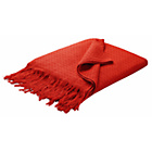 more details on Habitat Zari Throw - Tomato Red.