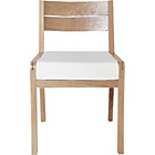 more details on Habitat Radius Dining Chair - Oak.