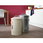 more details on Habitat Alto 52L Kitchen Bin - Galvanised.