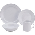 more details on Essentials 60 Piece Dinner Starter Set - White.