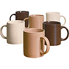 more details on 6 Piece Mugs Set - Natural.