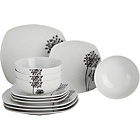 more details on 12 Piece Soft Square Allium Dinner Set.