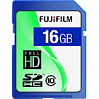 more details on Fujifilm Class 10 SDHC Memory Card - 16GB.