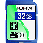more details on Fujifilm Class 10 SDHC Memory Card - 32GB.