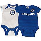 more details on Chelsea FC Boys' Bodysuit 2 Pack - 12-18 Months.
