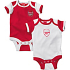 more details on Arsenal FC Baby Bodysuit 2 Pack.