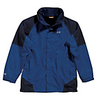 more details on Regatta Men's Blue Delaney 3 in 1 Jacket - Large.