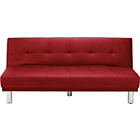 more details on Soho Large Clic Clac Sofa Bed - Red.