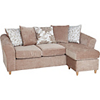 more details on Living Isabelle Movable Chaise Corner Sofa Group - Mink.