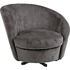 more details on HOME Tilly Fabric Chair - Charcoal.