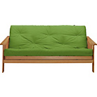 more details on Cuba Futon Sofa Bed with Mattress - Green.