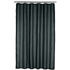 more details on ColourMatch Plain Shower Curtain - Jet Black.