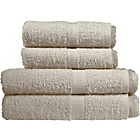more details on Simple Value 4 Piece Towel Bale - Cream.
