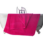 more details on ColourMatch Pair of Extra Large Bath Towels - Funky Fuchsia.