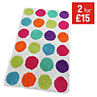 more details on ColourMatch Bath Mat - Multi Spots.
