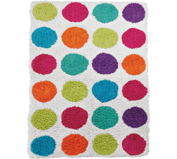buy colourmatch bath mat spots at your. Black Bedroom Furniture Sets. Home Design Ideas
