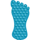 more details on Foot Rubber Bath Mat - Blue.