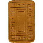 more details on Greek Key Bath Mat Set - Mocha.