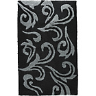 more details on Damask Bath Mat - Black and Grey.