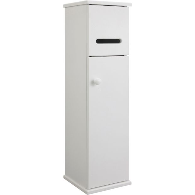 Buy HOME Bathroom Tidy Storage Cupboard - White at Argos ...