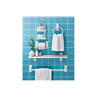 more details on HOME Wooden 6 Piece Bathroom Accessory Set - White.