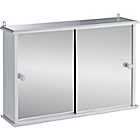 more details on Sliding Door Bathroom Cabinet - White.