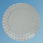 more details on Collection Mosaic Round Bathroom Mirror.