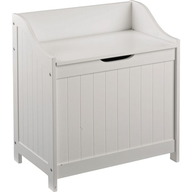 Buy Home Monks Bench Style Laundry Box White At Argos Co