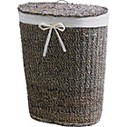 more details on Two Tone Laundry Basket - Seagrass.