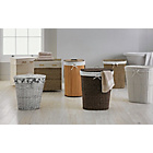 more details on Willow Linen Bin with Cotton Liner - White.