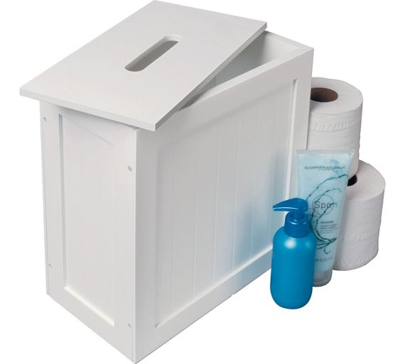 Buy HOME Slimline Shaker Unit With Lid White At Your