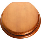 more details on Wood Effect Toilet Seat - Antique Pine.
