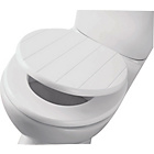 more details on Shaker Style Toilet Seat - White.