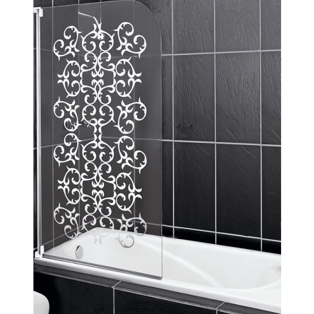 buy victorian curved shower screen at your. Black Bedroom Furniture Sets. Home Design Ideas