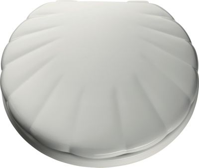 Buy Home Shell Toilet Seat White At Argos Co Uk Your
